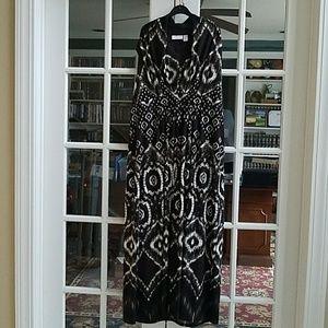 CHICOS Tribal Print Maxi Dress